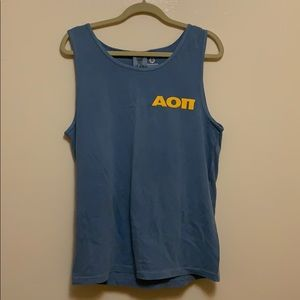 Alpha Omicron Pi Bid Day Boy Tank